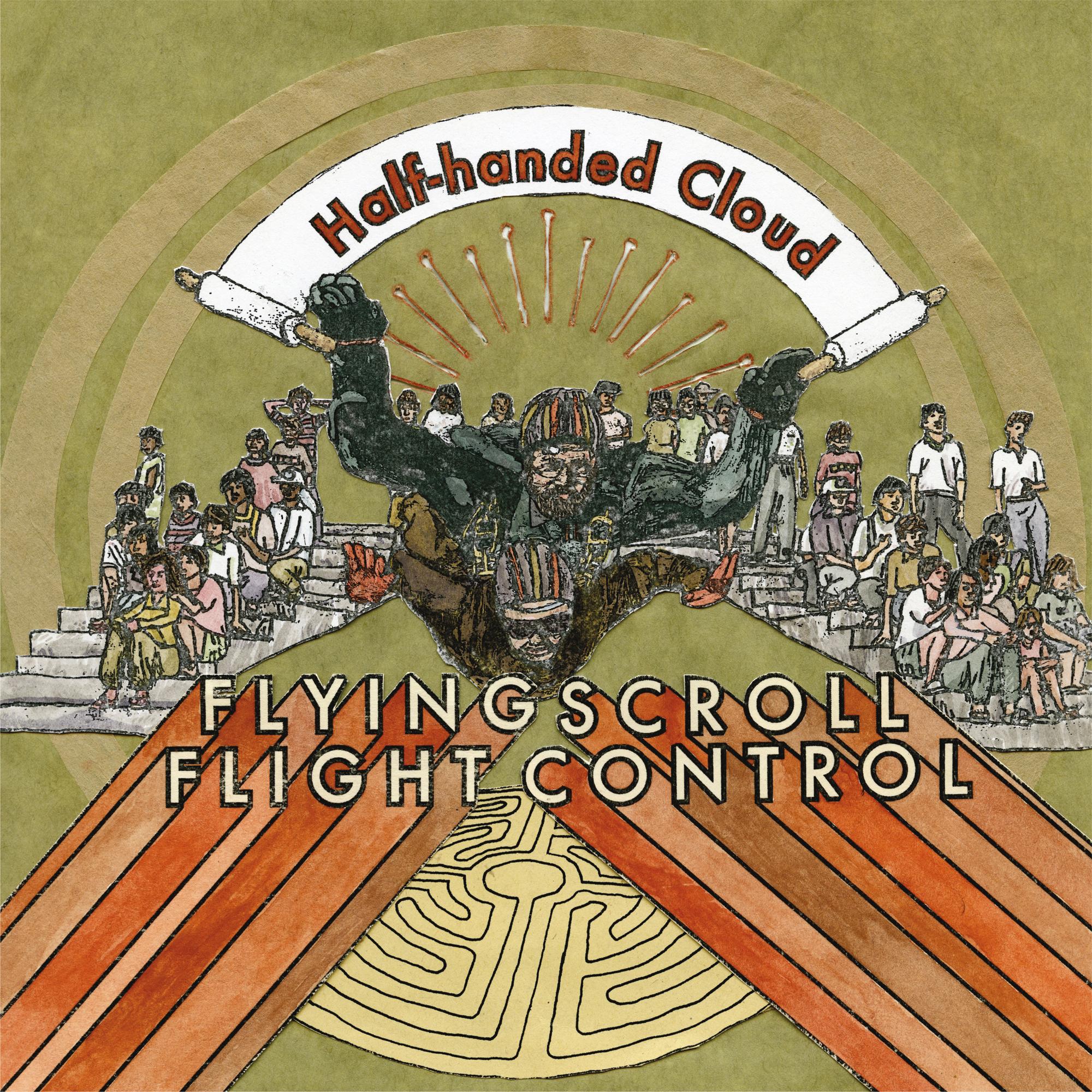 Flying Scroll Flight Control (album cover)